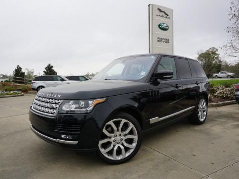 2017 Land Rover Range Rover Supercharged SWB